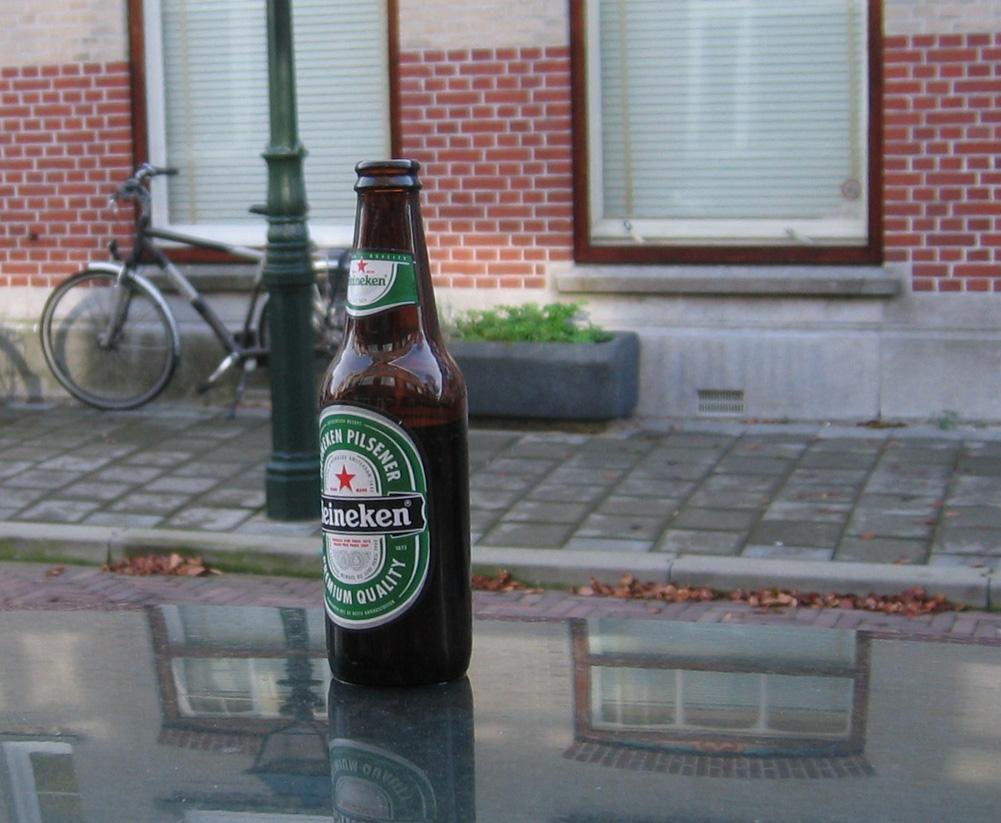 Bier-op-autodak