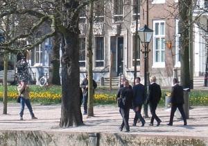 Wilders aan de wandel