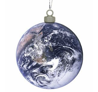 kerstbal aarde