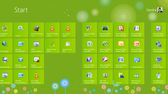 Schermafbeelding Windows 8