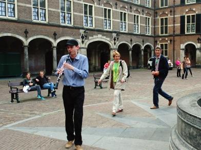Klarinet op Binnenhof