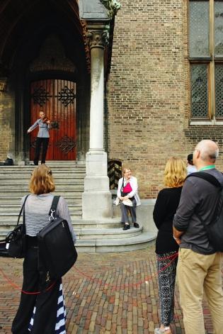 Viool op Binnenhof