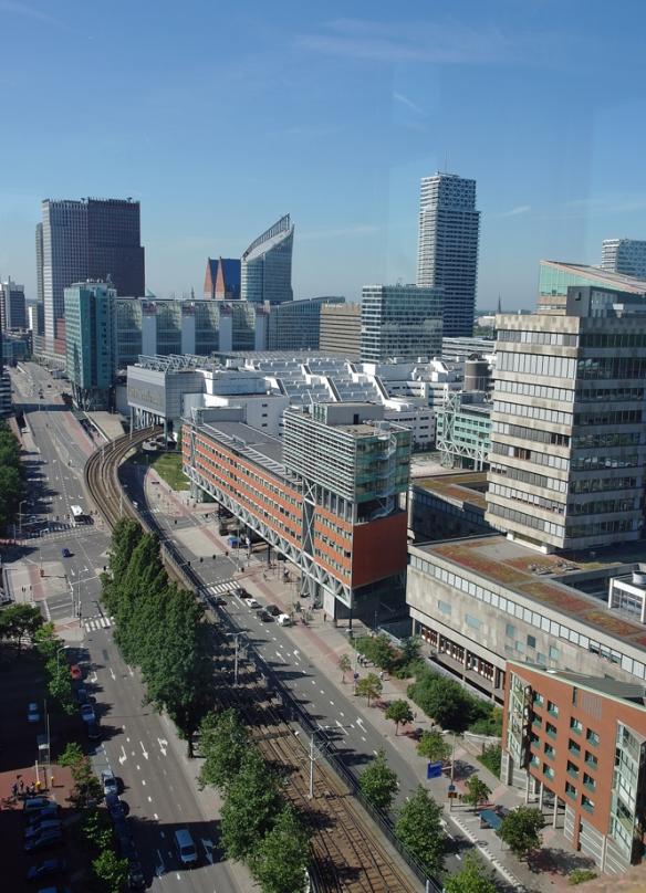 Uitzicht Centre Court Den Haag