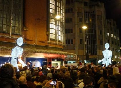 Straattheater Dundu in Den Haag