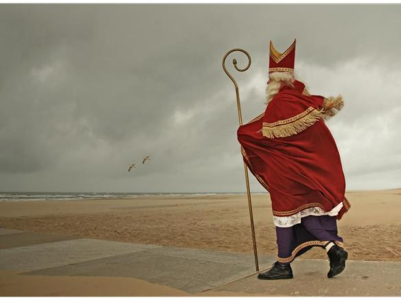 Sint in storm