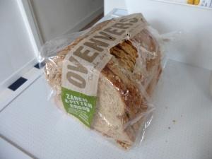 Aangeknaagd brood