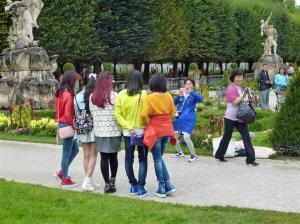 Salzburg, Aziatische meisjes