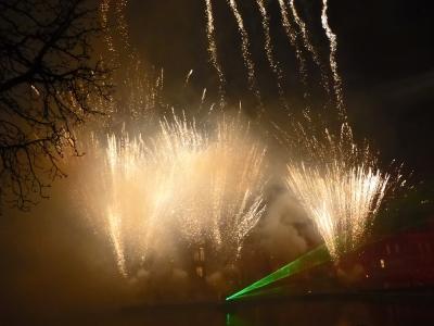 Vuurwerk Hofvijver (6)