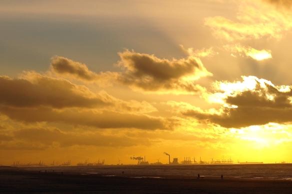 Zuiderstrand zonsondergang2