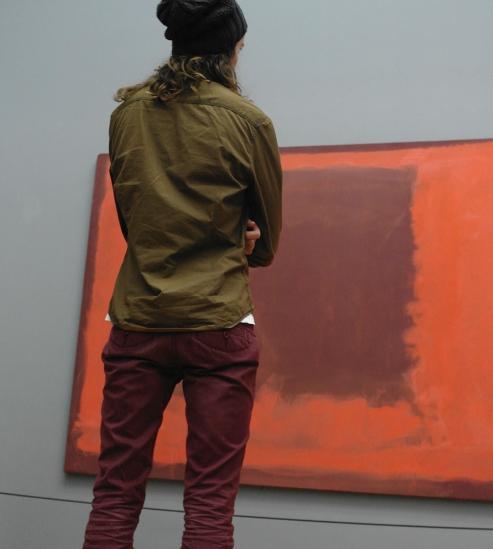 Bezoeker voor Rothko
