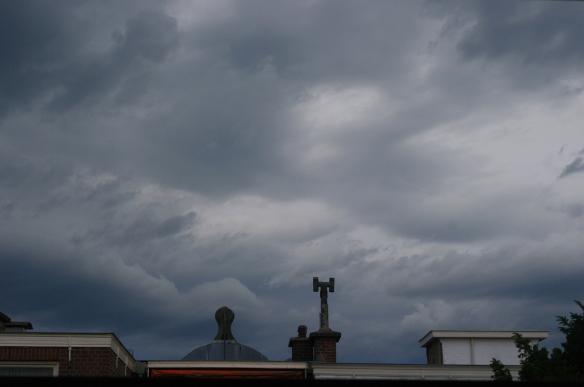Dreigend onweer