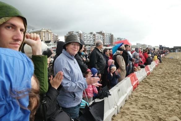strandoefening prinsjesdag scheveningen
