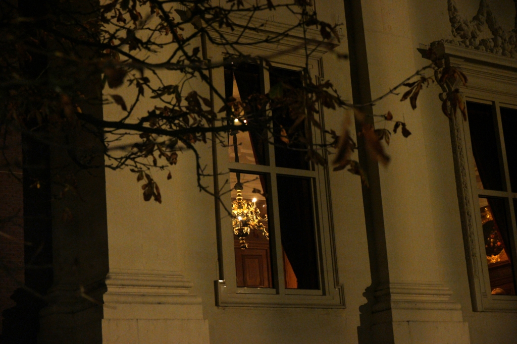 Mauritshuis bij nacht