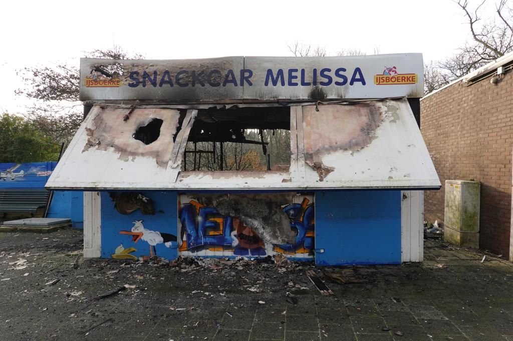Snackcar Melissa vernield in Duindorp