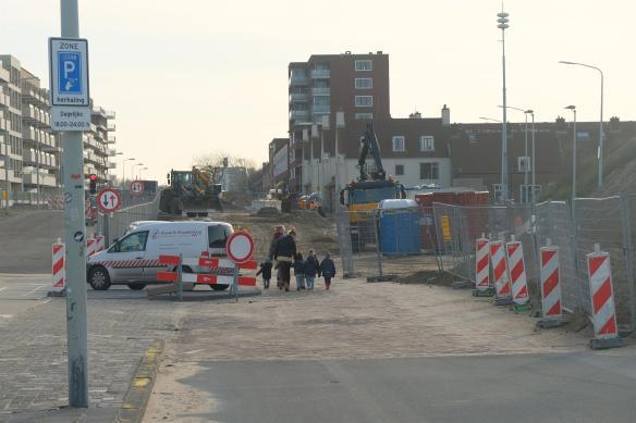 Werkzaamheden Houtrustweg bij Duindorp