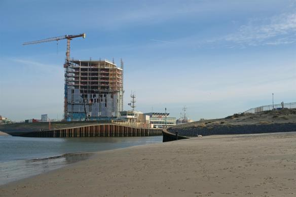 Inntel Hotel in aanbouw Scheveningen