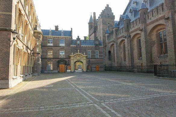Binnenhof zonder mensen